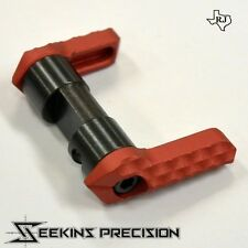 Seekins Precision Ambidextrous Safety RED Amb 60 or 90 Degree switch 556/223/308