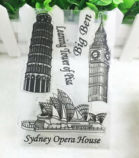Big ben Silicone Rubber Clear Stamp Seal Scrapbooking Diary Christmas Card