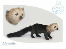 Tayra Plush Soft Toy by Hansa. High Wood Dog from weasel and marten family. 6221