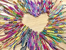 FRIENDSHIP BRACELETS Nylon Wholesale Bulk 25 Woven FAIR TRADE GIFTS UK Stock.