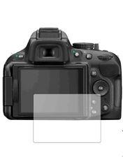3 x Clear screen protectors for Nikon D5200 - camera accessory