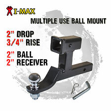 Multi Use Dual Towbar Tow Bar Ball Mount Tongue Hitch Trailer 4WD Car Bike Rack