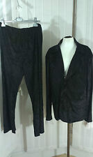 Suit 1960s Gigolo Costume Groovy Powers Black Austin Outfit