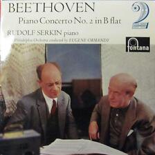 "Beethoven/Ormandy(10"" Vinyl)Piano Concerto 2 B Flat-UK-EFR 2035-"