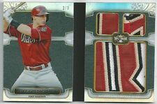 2014 Triple Threads PAUL GOLDSCHMIDT Jumbo Patch Relic Non-Auto Booklet #2/3