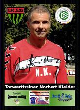 Norbert Kleider Autogrammkarte FC Schweinfurt 05 Original Signiert+A 118616