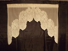 HERITAGE LACE IVORY CLERMONT SWAG CURTAIN NWOT ITEM 8040