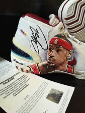 2003-04 LEBRON JAMES SIGNED NIKE ROOKIE SHOES UDA AUTOGRAPH PE UPPER DECK 1 Of 1