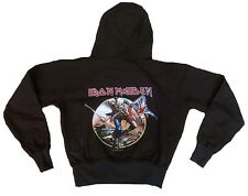 AMPLIFIED Official IRON MAIDEN The Trooper Vintage Rock ViP SWEAT SHIRT HOODIE M