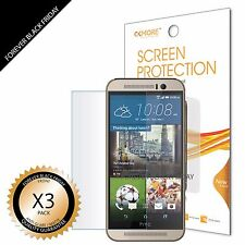 3x Anti-Glare Matte Screen Protector Cover Guard Shield Saver For HTC ONE M9