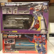 transformers Takara G1 Encore LOT, Optimus prime, Bape , Piranacon, combiner lot