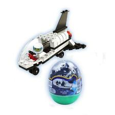 DIY Spaceship Toys Space World Building Blocks Assembly Puzzle Egg Series