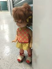 Rare Vintage 1964 Mattel Baby First Step Doll With Roller Skates