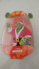 SHREK 2 SANTA SHREK ACTION FIGURE HASBRO TOYS 2004 BRAND NEW IN BOX/MINT ON CARD