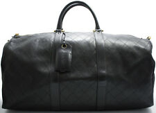 CHANEL Boston Bag Reisetasche Tasche XL Rare Weekender Matelassé Keepall SUPER