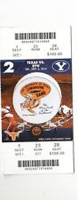 2014 TEXAS LONGHORNS VS BYU COUGARS TICKET STUB 9/6 COLLEGE FOOTBALL