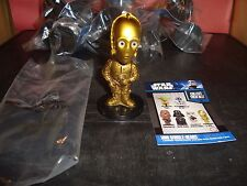 "C-3PO Star Wars 3"" Tall Funko Mini Bobble Head Action Figure New In Package"