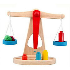 Balance Scale Toy Montessori Educational Toy Baby Early Development Toy Er