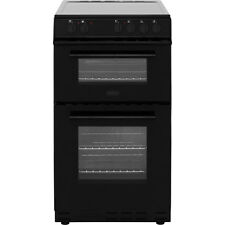 Belling FS50EDOC Electric Cooker with Ceramic Hob Free Standing 50cm Black New