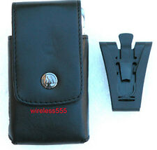 MOTOROLA  W755  V9  V3 RAZR OEM LEATHER CASE CLIP POUCH