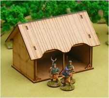 Dark age panier grange/stable/forge 28mm laser cut mdf scale building J010