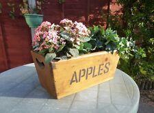 Handmade Wooden Apple Box Garden Planter/Window Box