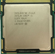 Intel Core i5-660 Processor i5 660 3.3 GHz 4MB Cache Socket LGA1156 32nm 73W