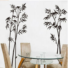 DIY Bamboo Tree Wall Stickers Removable Vinyl Decal Mural Home Decoration