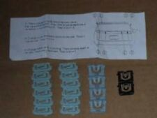 78-87 El Camino Window Molding Clips for Rear Window