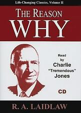 The Reason Why (Life-Changing Classics (Audio)) Laidlaw, R A Audio CD