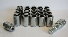 16 X M12 X 1.5 TUNER ALLOY WHEEL NUTS & LOCKING FIT JAGUAR X TYPE