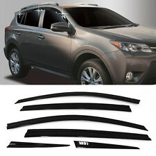 Smoke Window Sun Vent Visor Rain Guards 6P A176 For TOYOTA 2013-2015 2016 RAV4