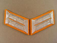59159 Paar Kragenspiegel für Offiziere der Feldgendarmerie zum Paradewaffenrock