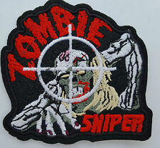 Zombie Sniper Iron On Badge Transfer Iron on Patch