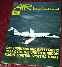 Air International 1980 May Learjet,USAFE,Bearcat