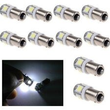 White BA9S 5050 Light SMD 5-LED Super Bright 10 Pcs Lamp New Bulb 12V T11 Car