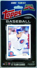 2014 Topps Chicago Cubs Baseball ~ 17-Card Factory Sealed Complete Team Set
