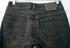 Womens Juniors Sz 29/33 SILVER JEANS Flare Bell Blue Jeans Dirty/Brown Wash EUC