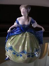 Rosenthal Figur Figurine Tänzerin Kaiserzeit Empire Dancer Langenmantel Nr. 206