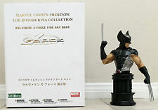 2 Kotobukiya busts WOLVERINE  X-Force SDCC Exclusive HAVOK  X-Men