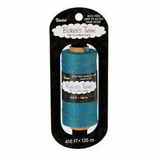 Darice 410 ft Turquoise and Gray Bakers Twine (Packaging, Scrapbooking, Crafts)