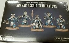 Warhamer 40K Horus Heresy Thousand Sons SCARAB OCCULT TERMINATORS