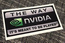 Nvidia GPU Inside - Cool Bumper Sticker - Car, Wall or Case Decal Sticker