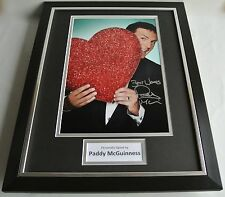 Paddy McGuinness SIGNED FRAMED Photo Autograph 16x12 display TV Take Me Out COA