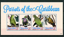 Union Island Grenadines St Vincent 2014 MNH Parrots of Caribbean 4v MS II Stamps