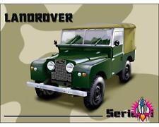 LAND ROVER SERIES 1 HANDMADE LARGE RETRO METAL WALL SIGN PLAQUE GARAGE