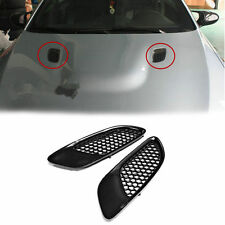 Matt Black Front Hood Side Vent Cover For BMW E90 E92 E93 M3
