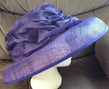 Purple Wedding Hat by Country Classics BNWT light weight