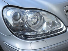 2003-2006 Mercedes W220 S-Class DRL LED Projector Headlights Left+Right HID Only