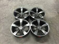 "20"" TTRS CONCAVE Style Wheels - Satin Gun Metal / Machined - Audi / VW - 5x112"